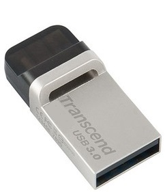 Transcend JetFlash 880 USB 3.0 OTG Flash Memory 64GB